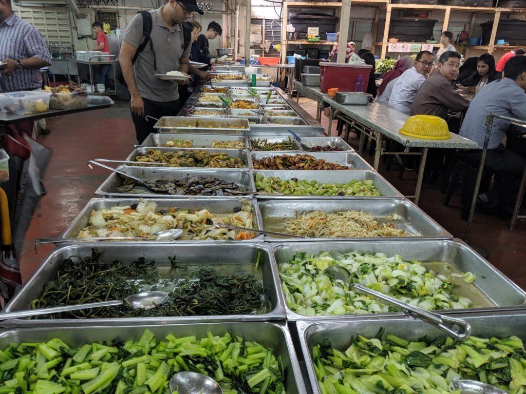 Kuala lumpur vegan buffet