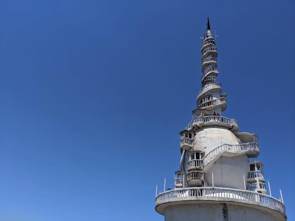 spirali staircase ambuluwawa tower sri lanka