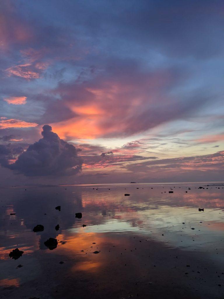 koh phangan sunset beach