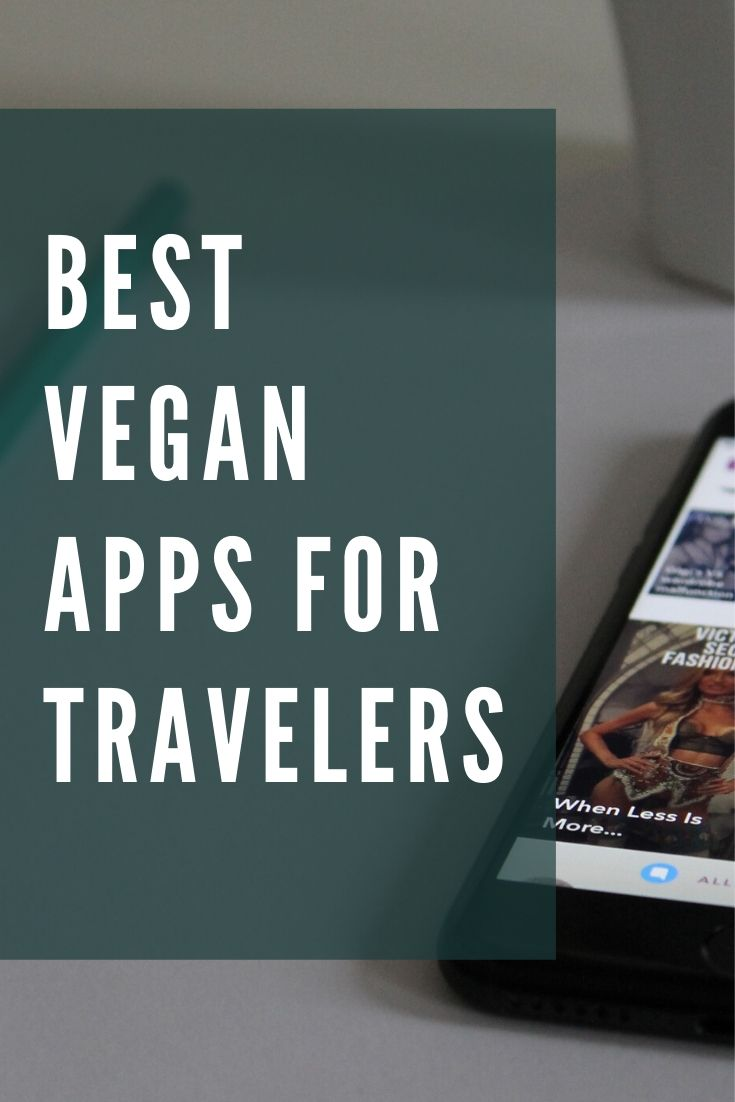 list of best vegan travel apps