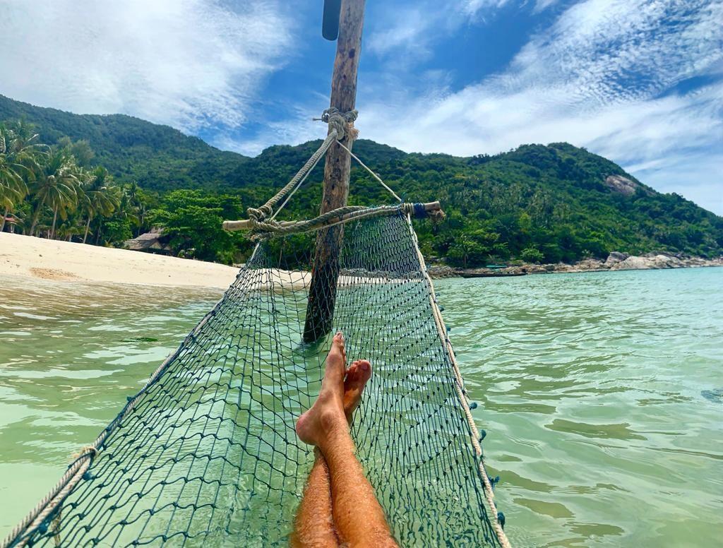 beach hammock koh phangan