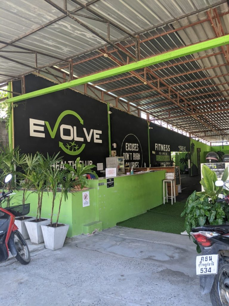 evolve fitness gym koh phangan