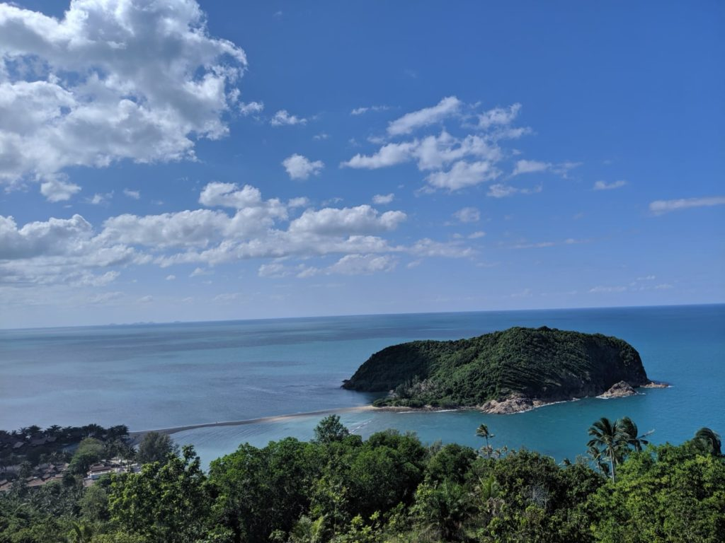view of ko ma from 360 bar koh phangan