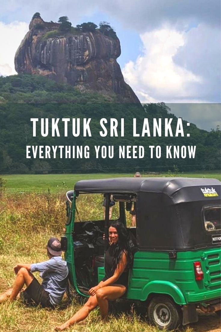tuktuk sri lanka travel guide