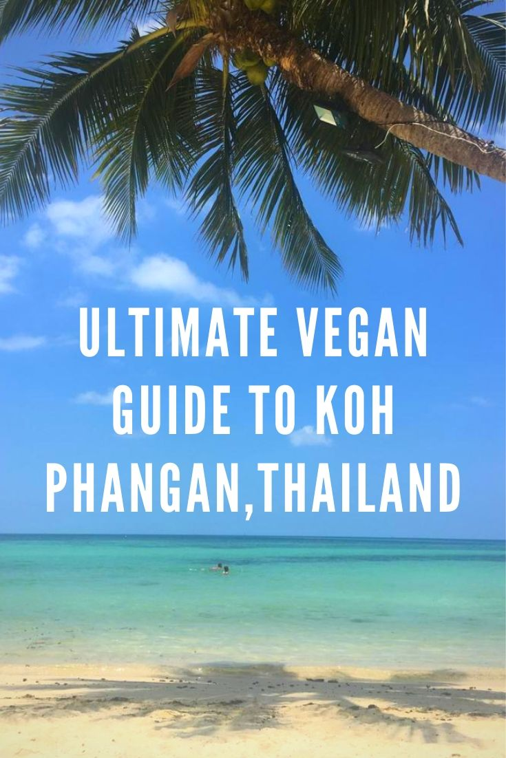 koh phangan vegan guide