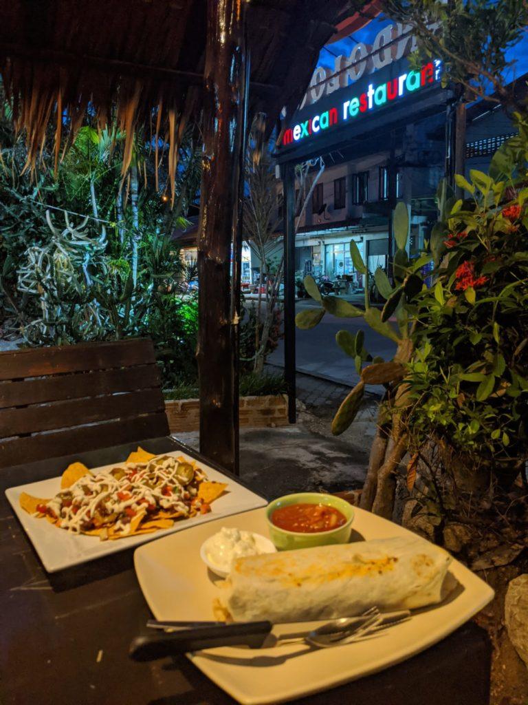 vegan mexican food in koh phangan