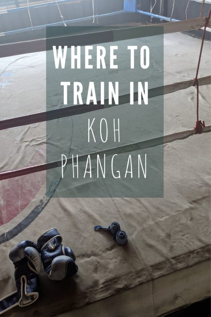 koh phangan gyms and muay thai