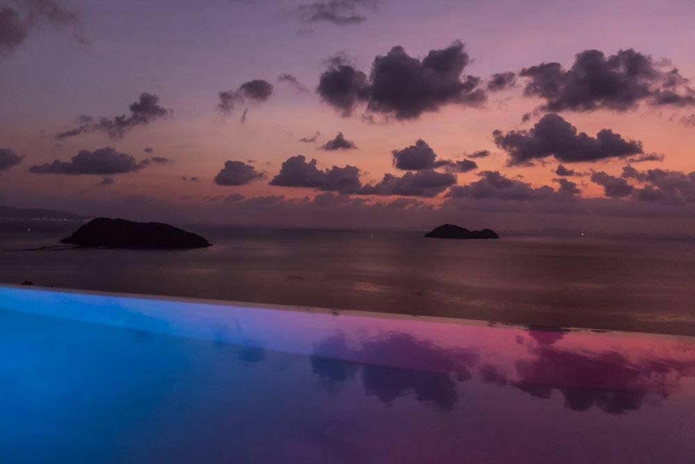 best views in koh phangan with swimming pool
