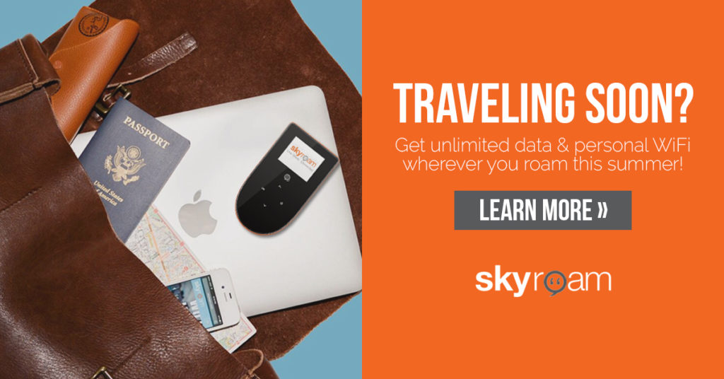 skyroam remote wifi hotspot