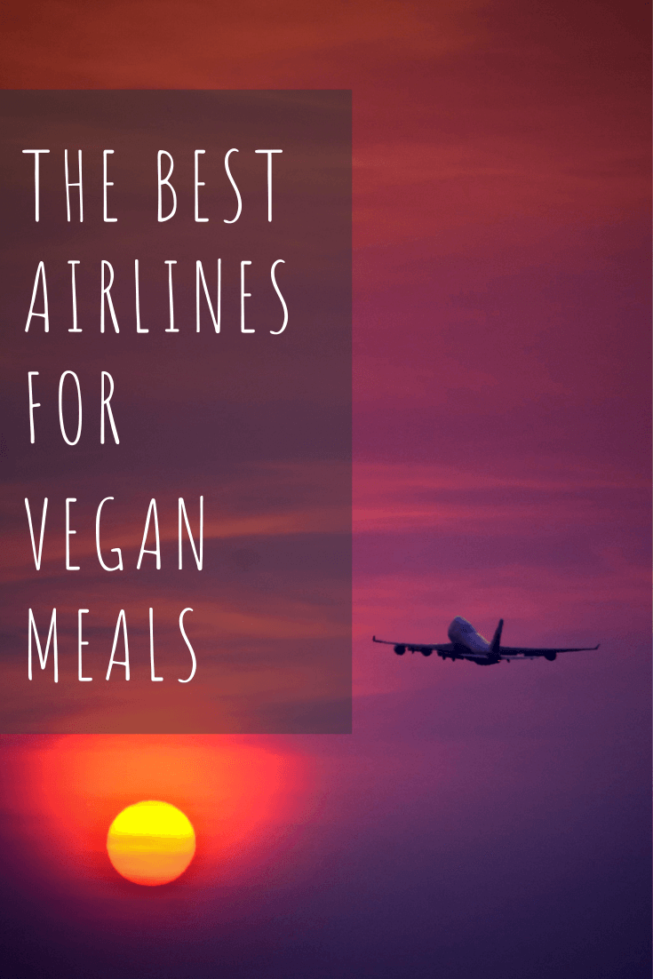 the best airlines to get vegan food