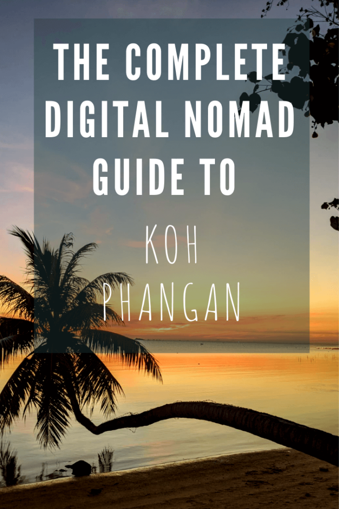 how to be a digital nomad in koh phangan