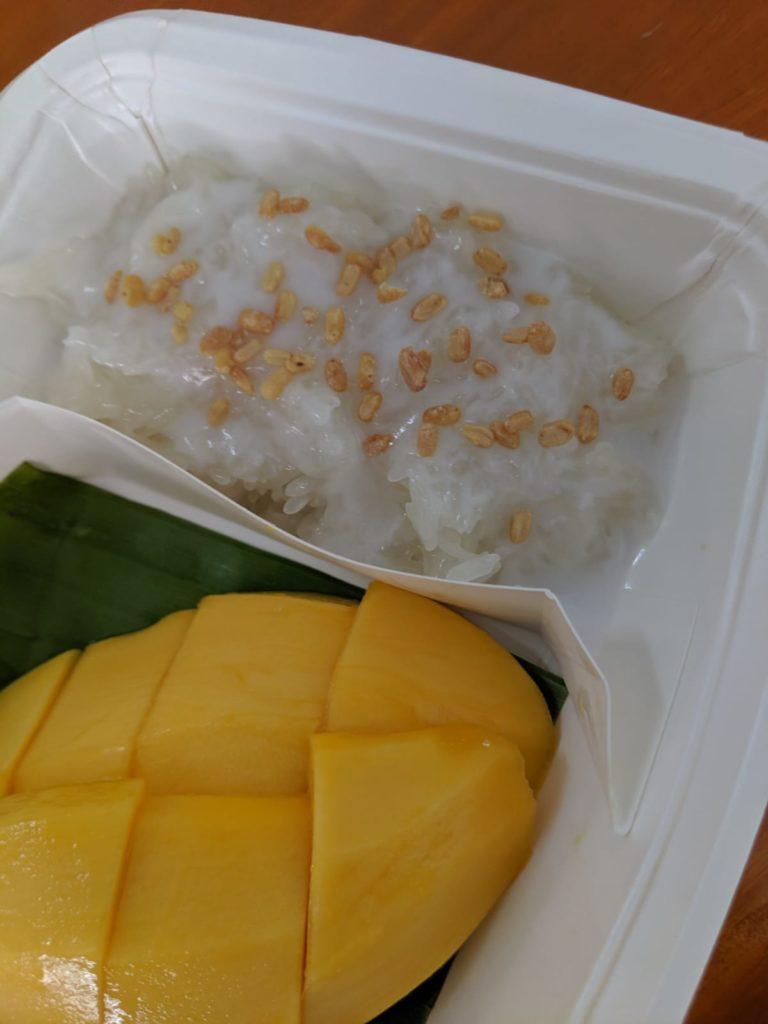 mango sticky rice koh phangan thailand