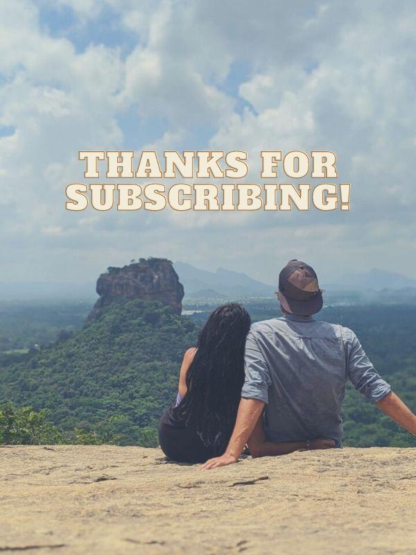 thank you page roaming vegans