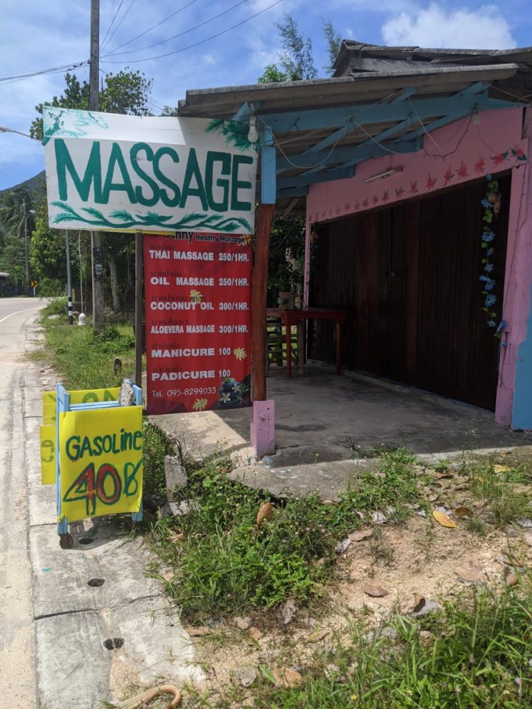 thai massage shop koh phangan