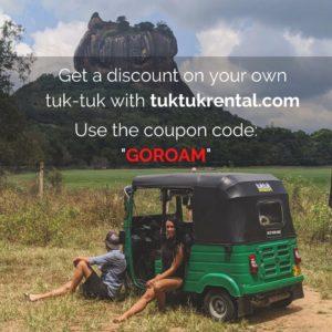 tuktukrental discount coupon code