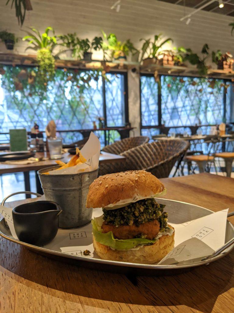 vegan fish burger bangkok