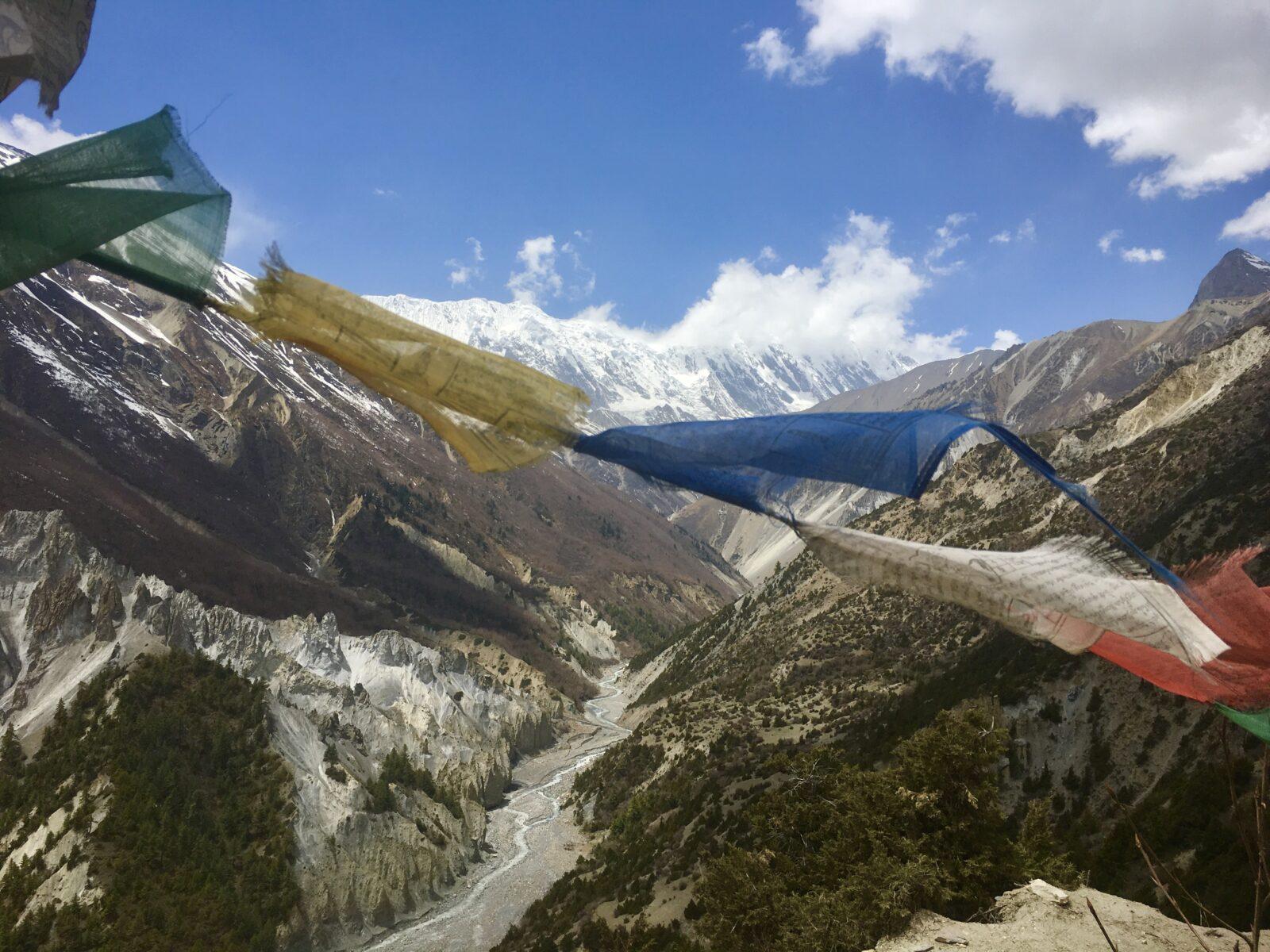 nepal tibetan flags