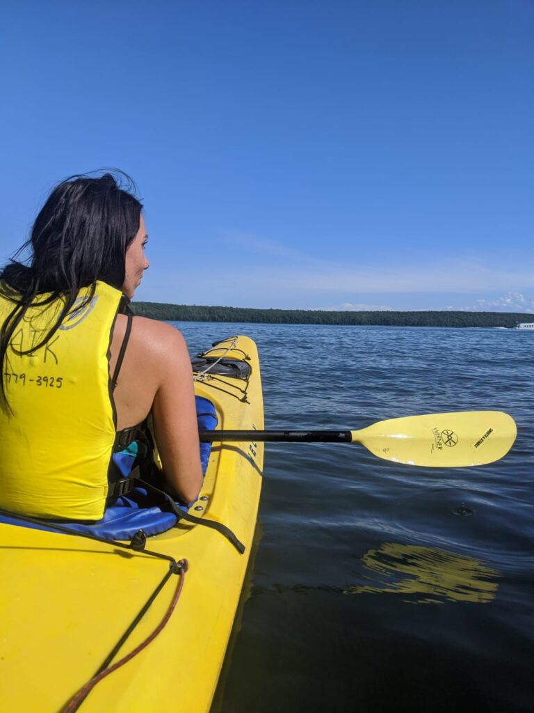 sea kayaking ther apostle islands review