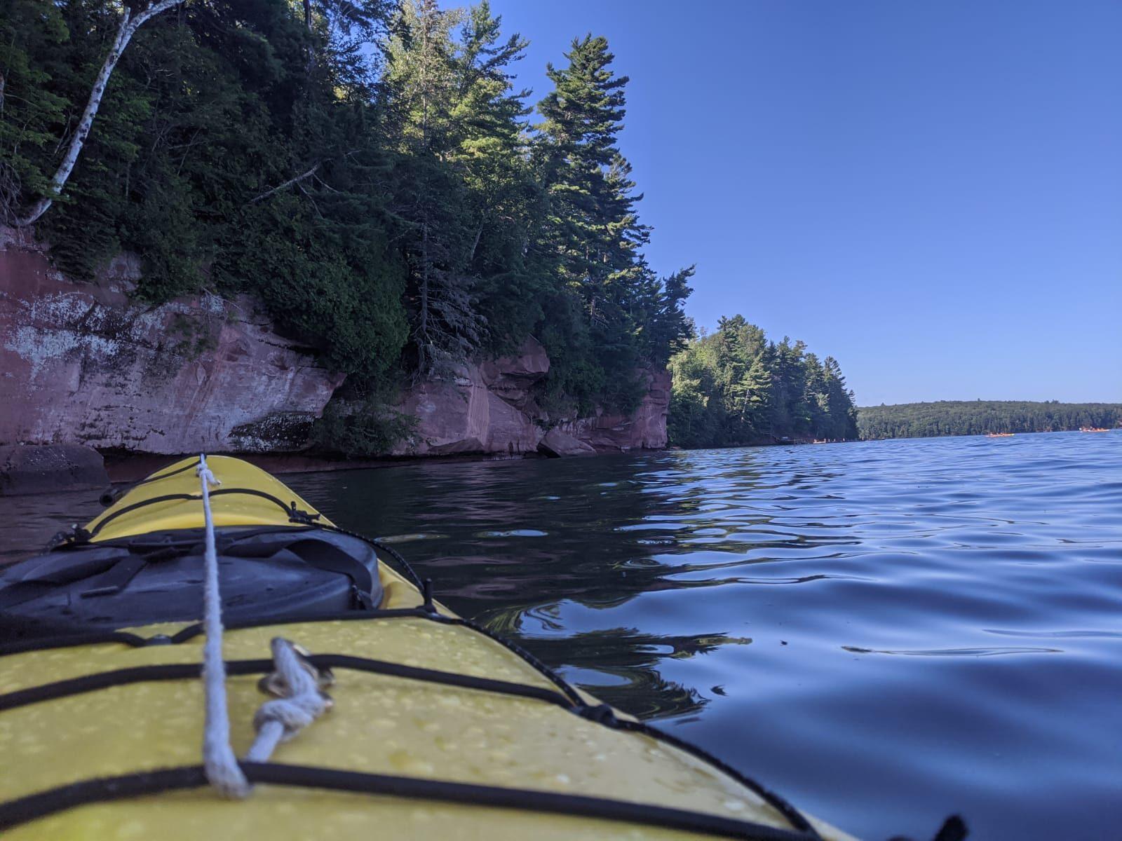 lake superior sea kayaking