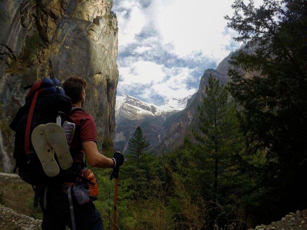 trekking mountains in nepal