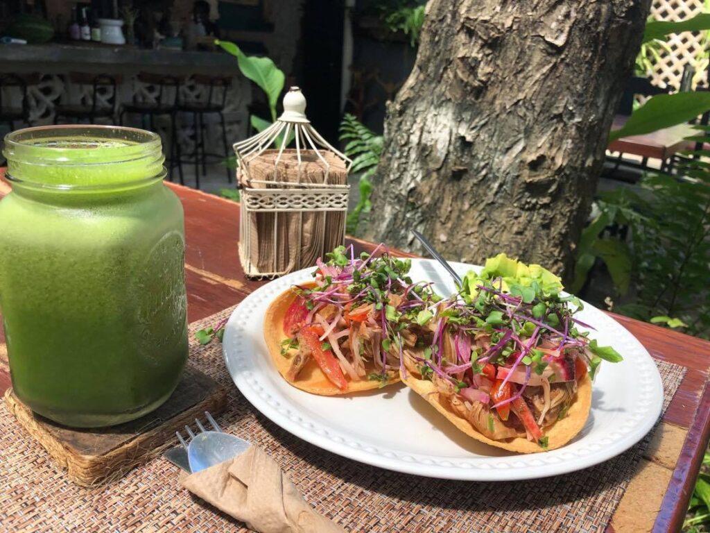 sirena morena vegan restaurant cancun
