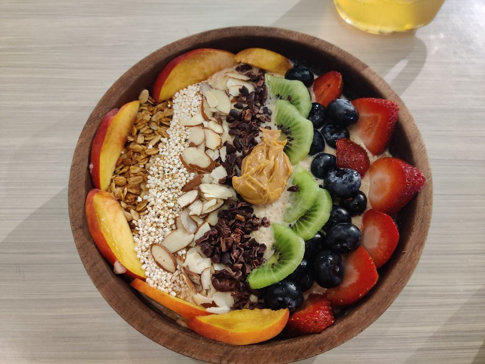 smoothie bowl cancun