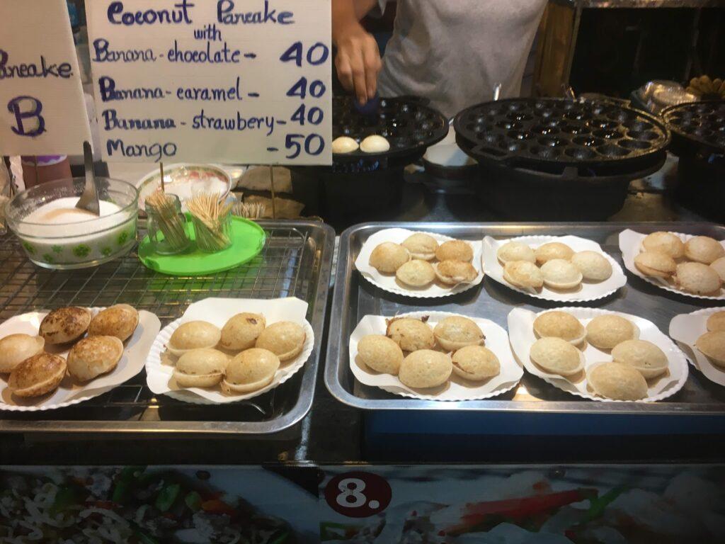 vegan thai pancakes