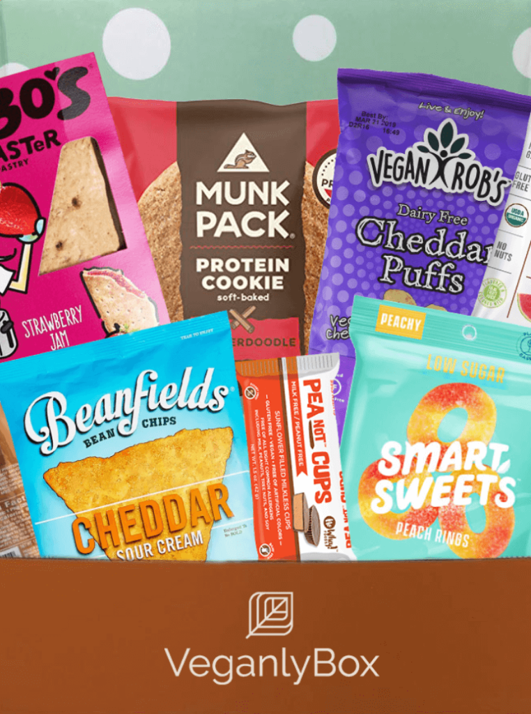 veganlybox snack box