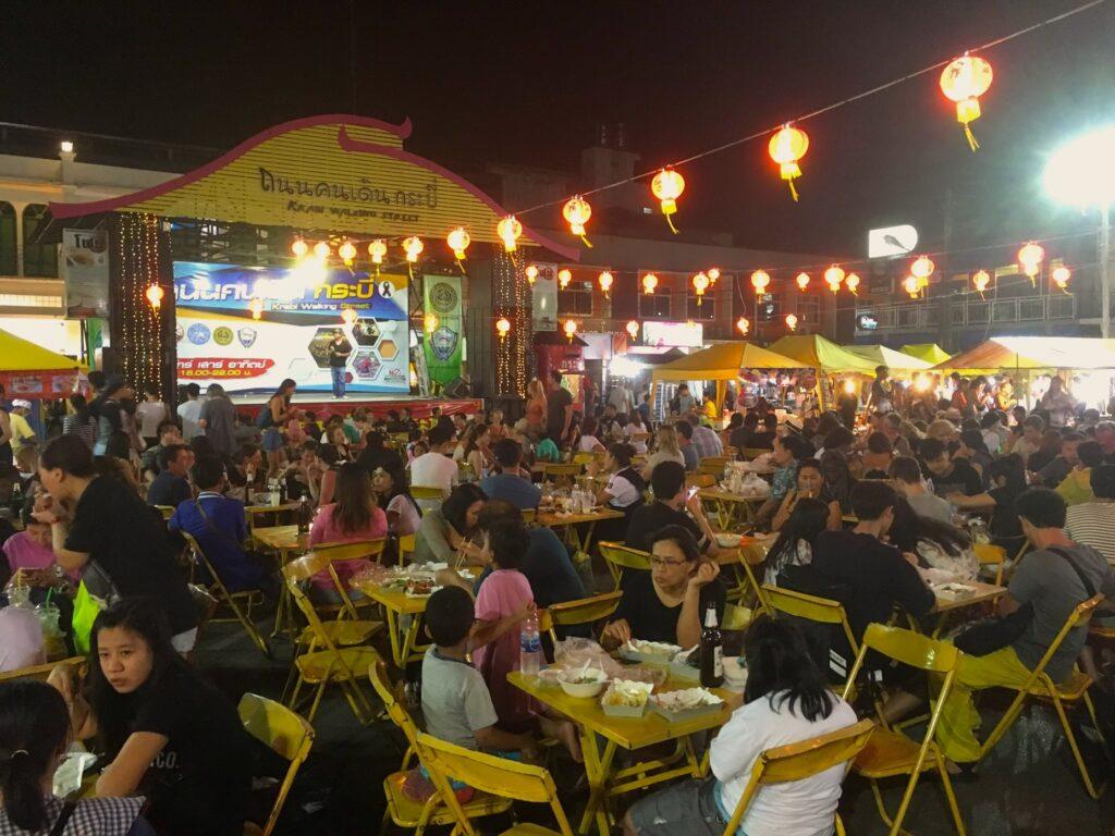 vegan food at thai night markets