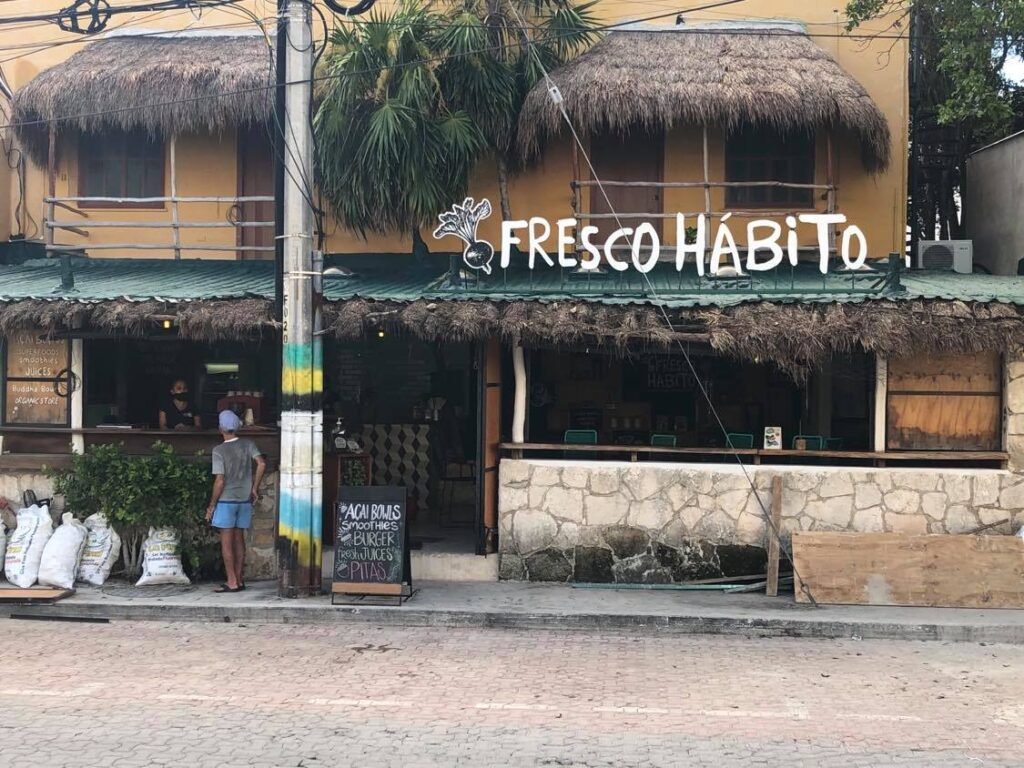 cool cafe in playa del carmen