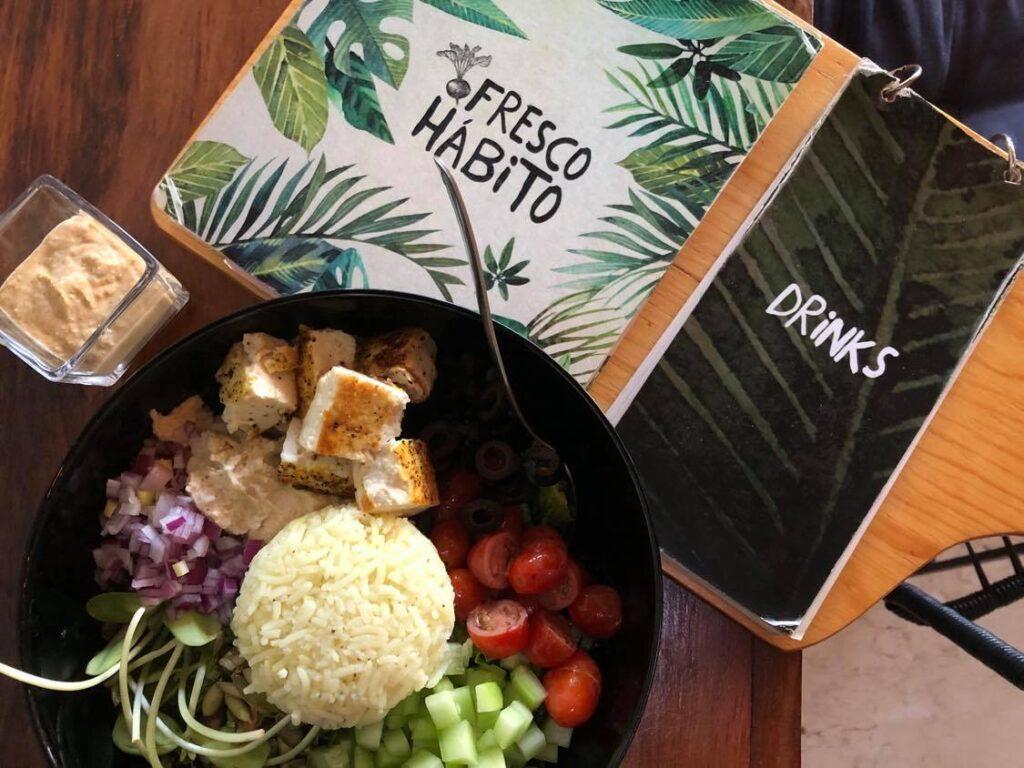 vegan meals in playa del carmen