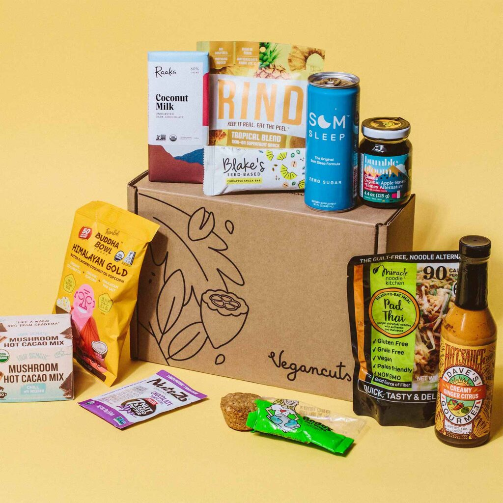 vegan snack boxes