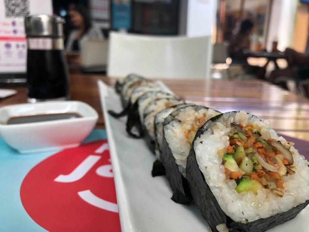 vegan sushi playa del carmen