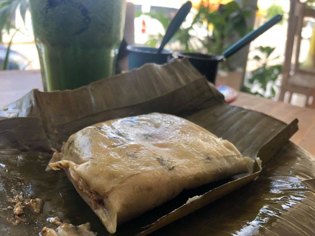 local tamales in tulum