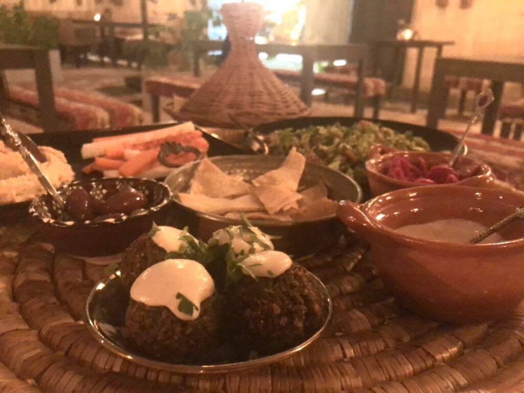 middle eastern vegan food tulum