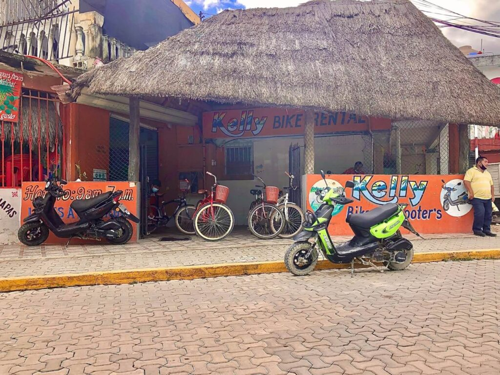 is renting a scooter in tulum safe