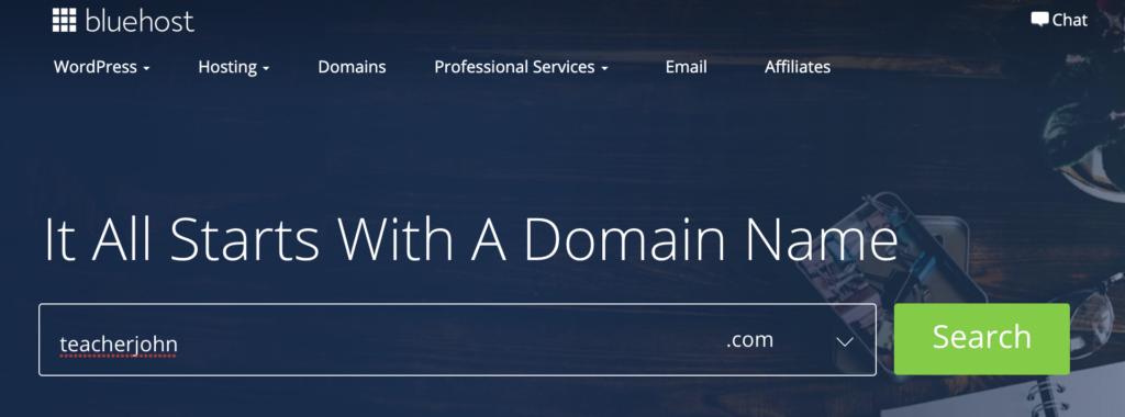esl website domain name