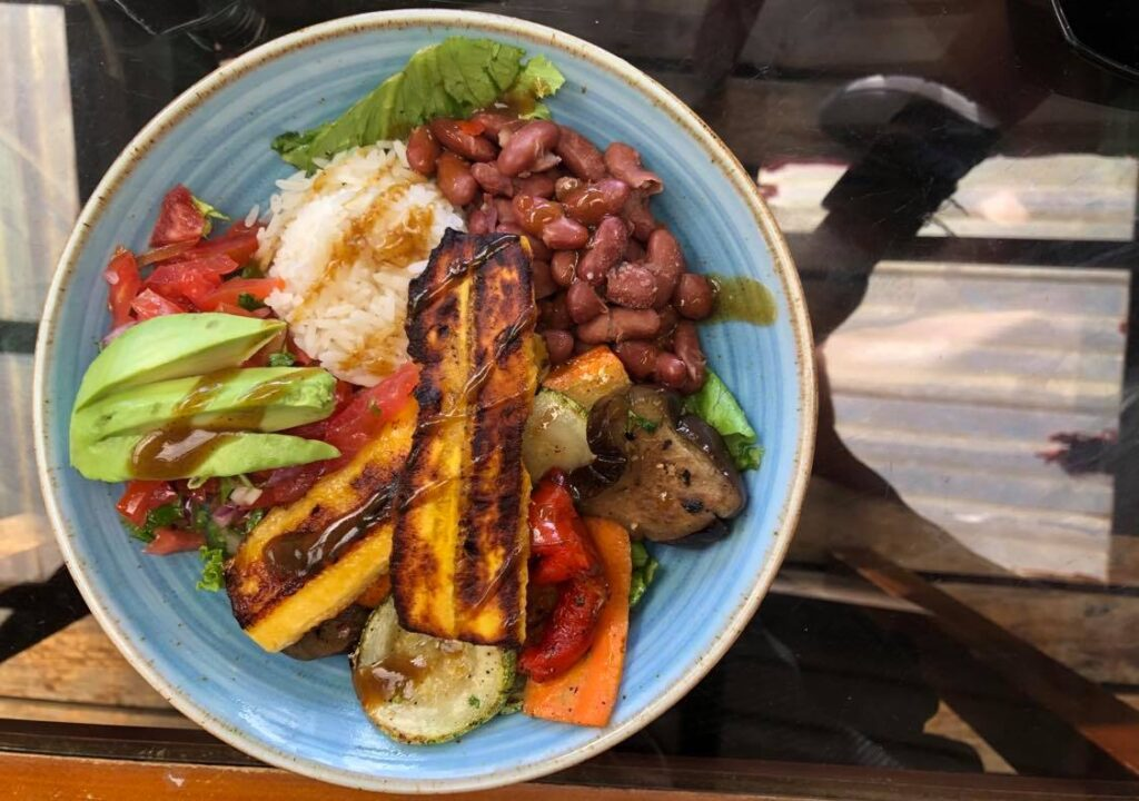 monteverde vegan food