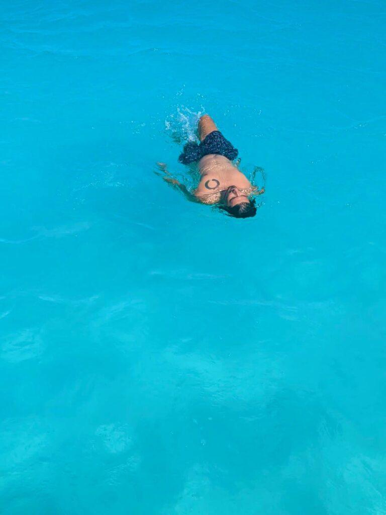 bacalar lake water color