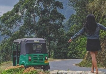 renting a tuktuk in sri lanka