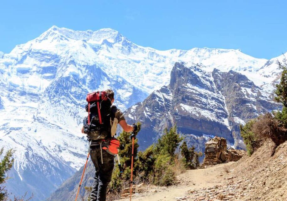 annapurna nepal trekking mountains