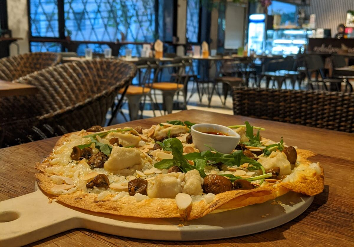 best vegan pizza bangkok