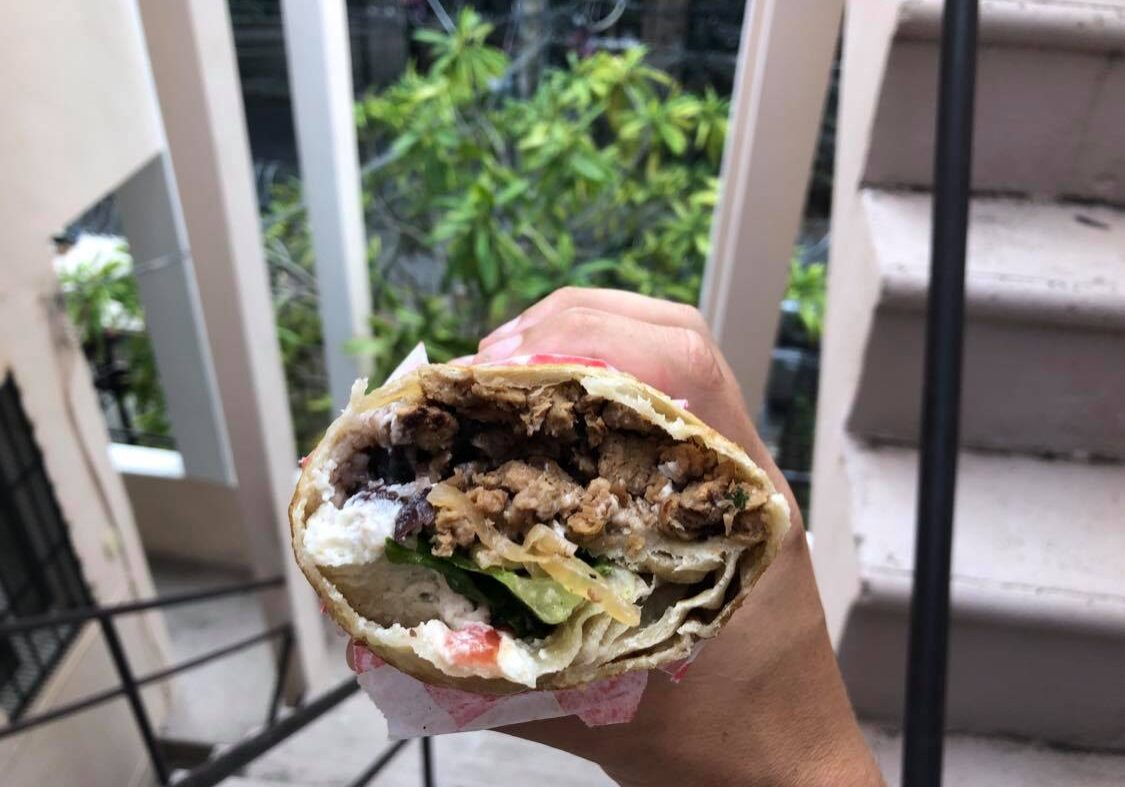 tasty vegan burrito in playa del carmen