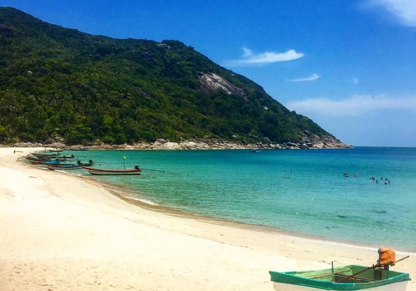 how to get to bottle beach phangan