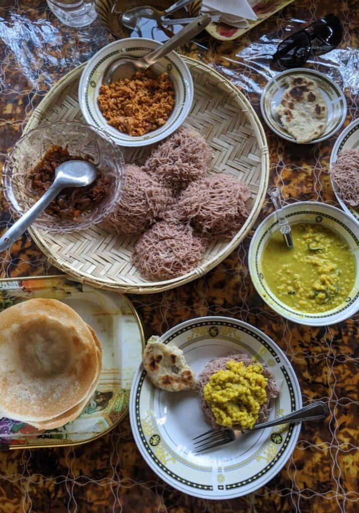amazing vegan food in dikwella sri lanka