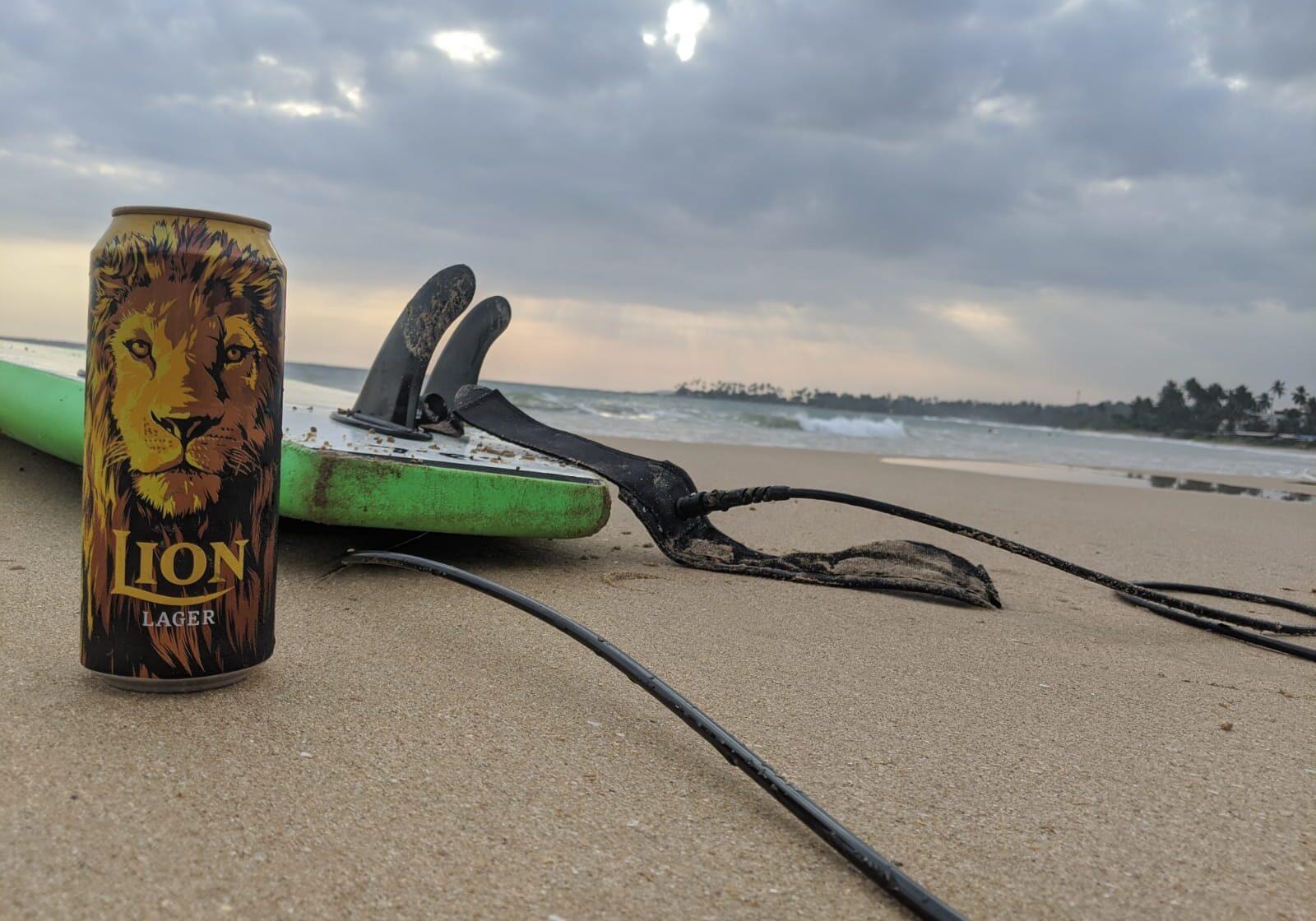 lion beer sri lanka
