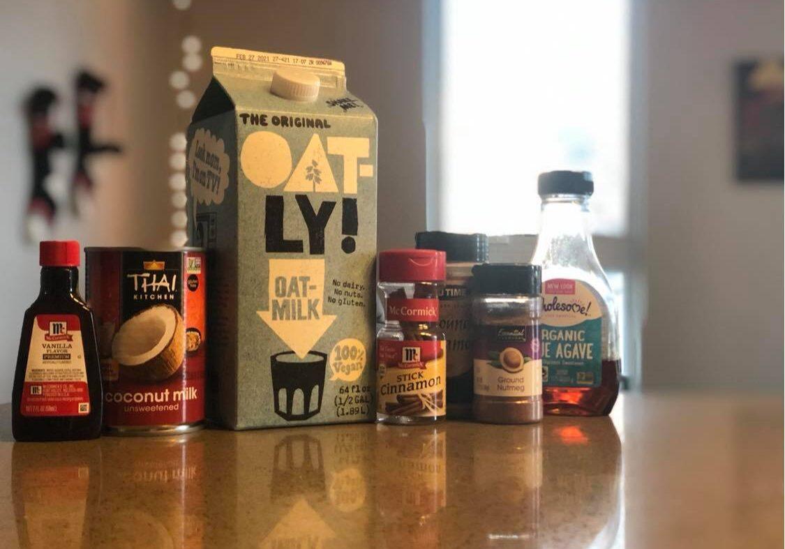 how to make vegan eggnog