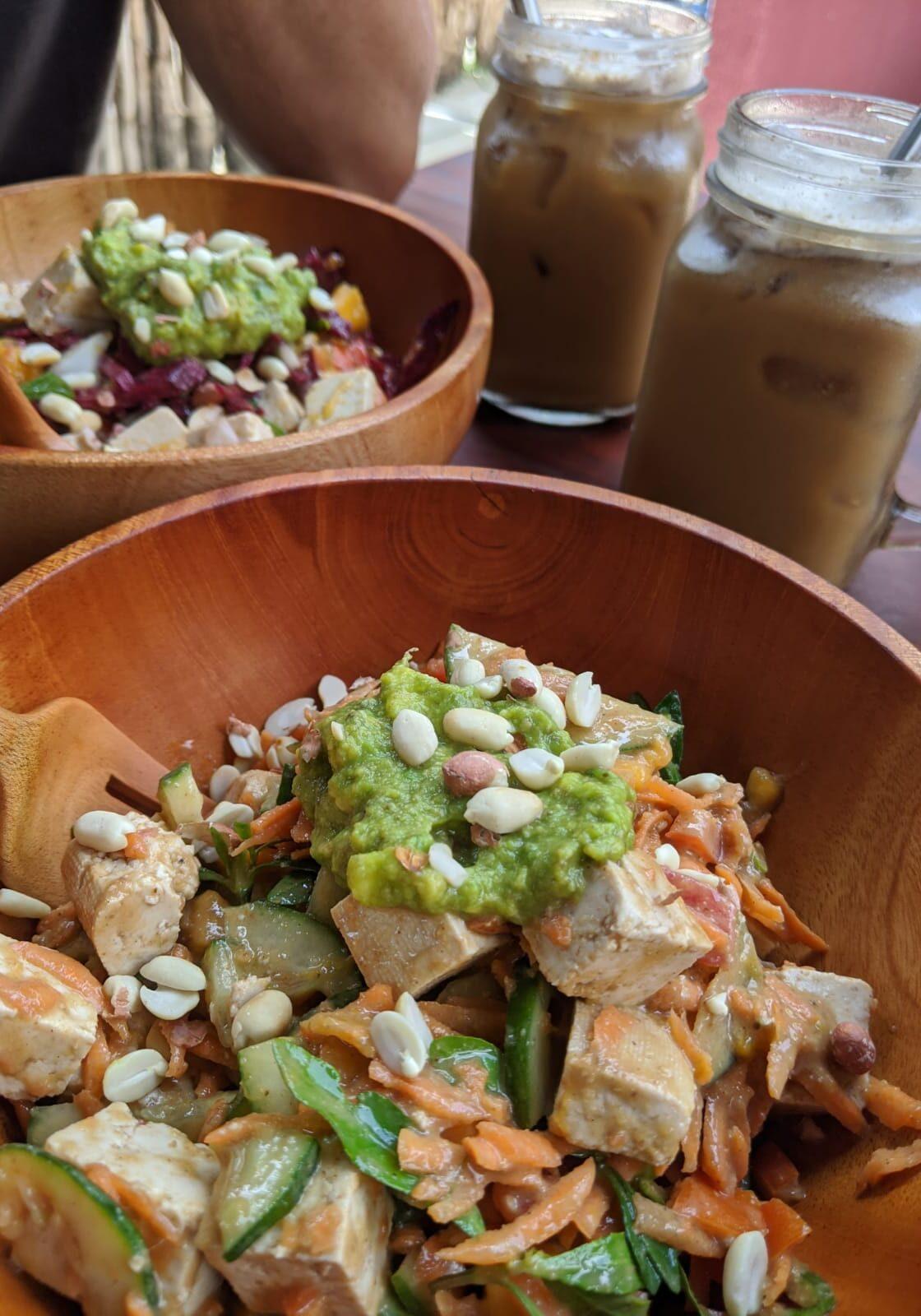 vegan poke bowl hiriketiya