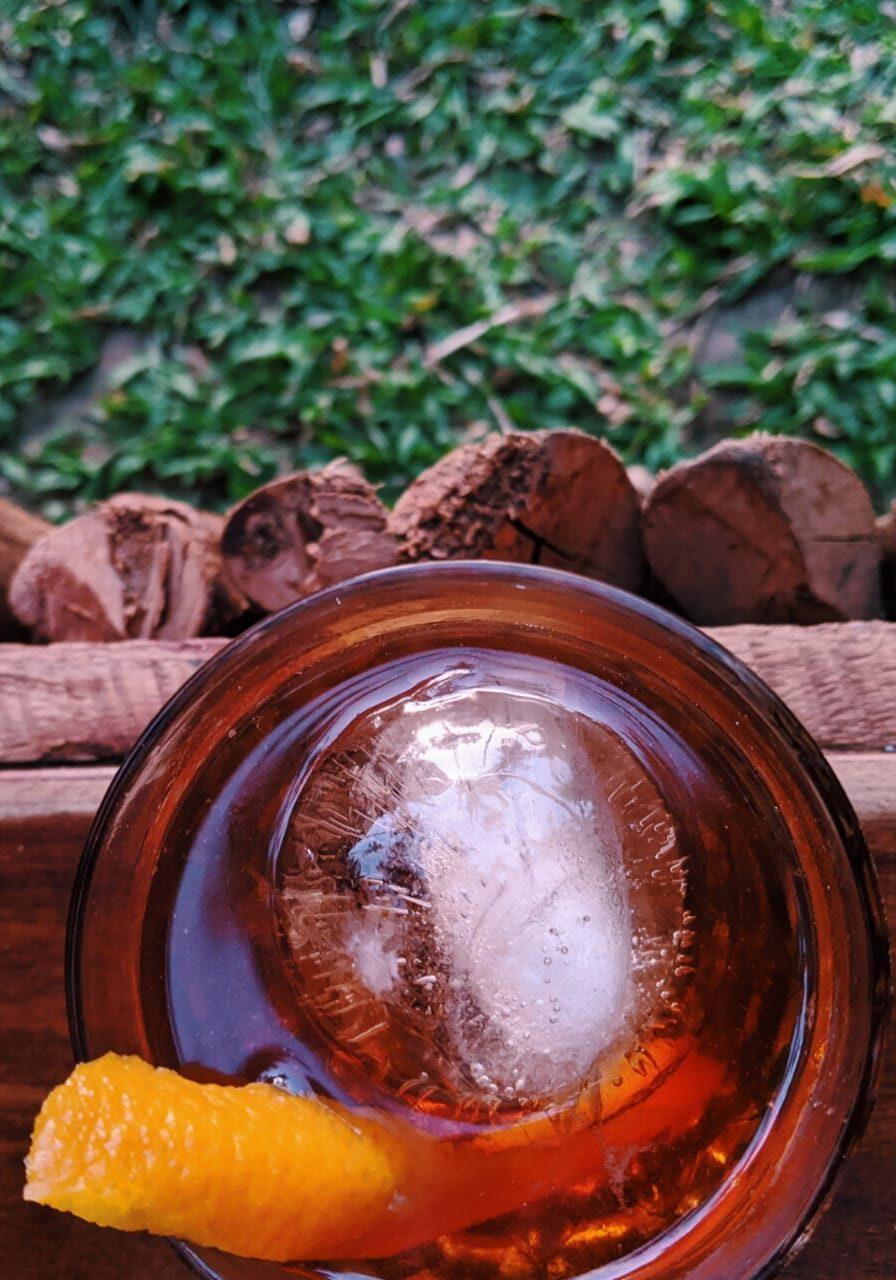 cocktail at smoke and bitters sri lanka