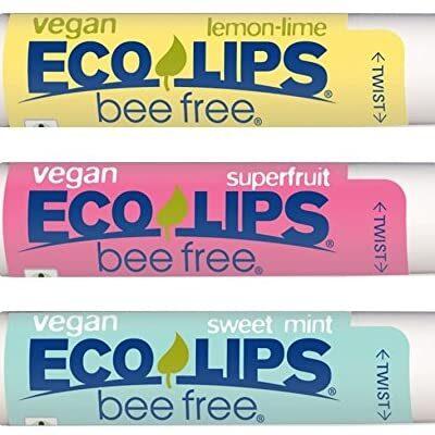 beewax free vegan lip balm